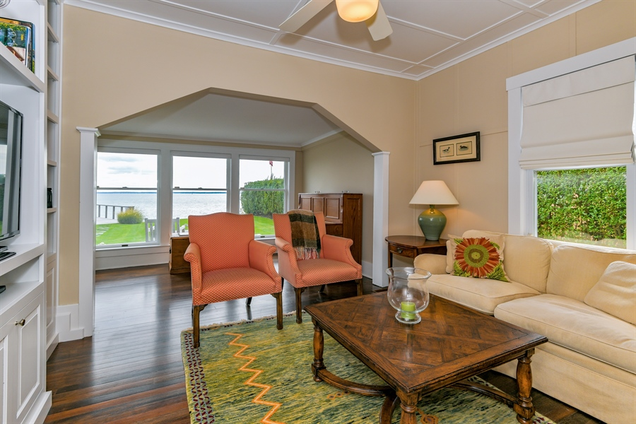 Real Estate Photography - 7080 Great Peconic Bay Blvd, Laurel, NY, 11948 - Den