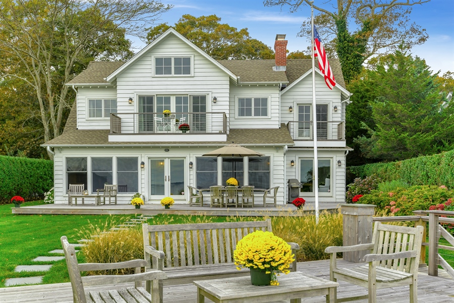Real Estate Photography - 7080 Great Peconic Bay Blvd, Laurel, NY, 11948 - Rear View