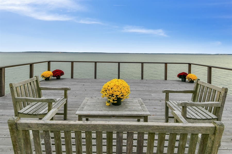 Real Estate Photography - 7080 Great Peconic Bay Blvd, Laurel, NY, 11948 - Deck