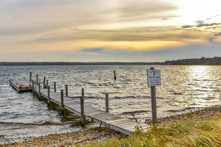Real Estate Photography - 108 Ram Island Dr, Shelter Island, NY, 11964 - Dock