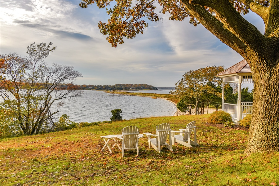Real Estate Photography - 108 Ram Island Dr, Shelter Island, NY, 11964 - Bay View