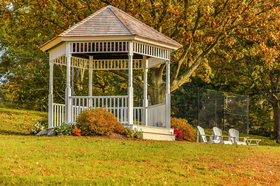 Real Estate Photography - 108 Ram Island Dr, Shelter Island, NY, 11964 - Gazebo