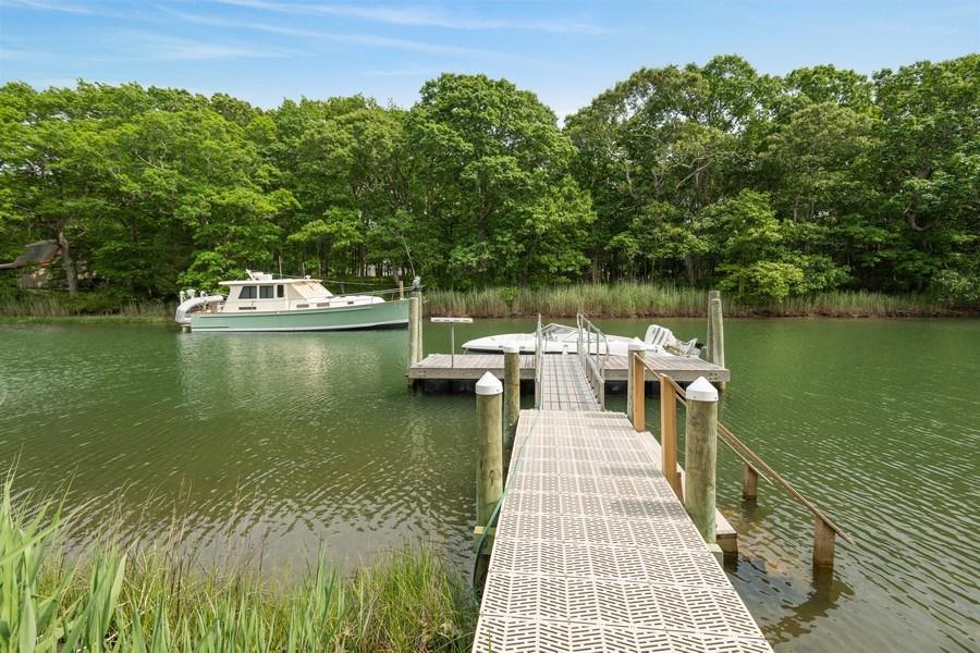 Real Estate Photography - 9 Wheeler Rd, Shelter Island, NY, 11964 - Dock