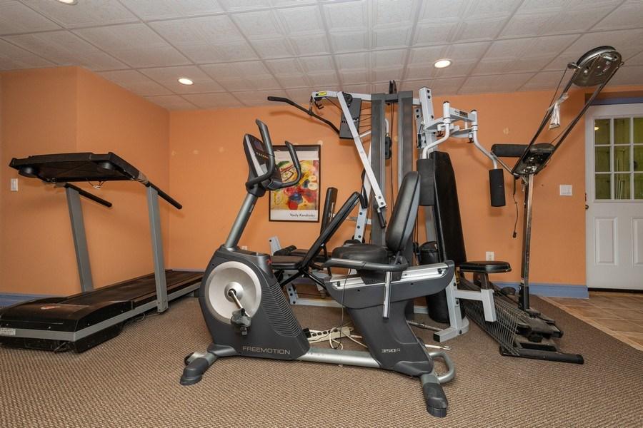 Real Estate Photography - 9 Wheeler Rd, Shelter Island, NY, 11964 - Gym