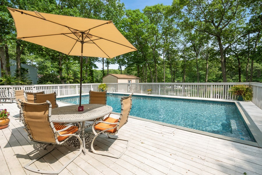 Real Estate Photography - 9 Wheeler Rd, Shelter Island, NY, 11964 - Deck
