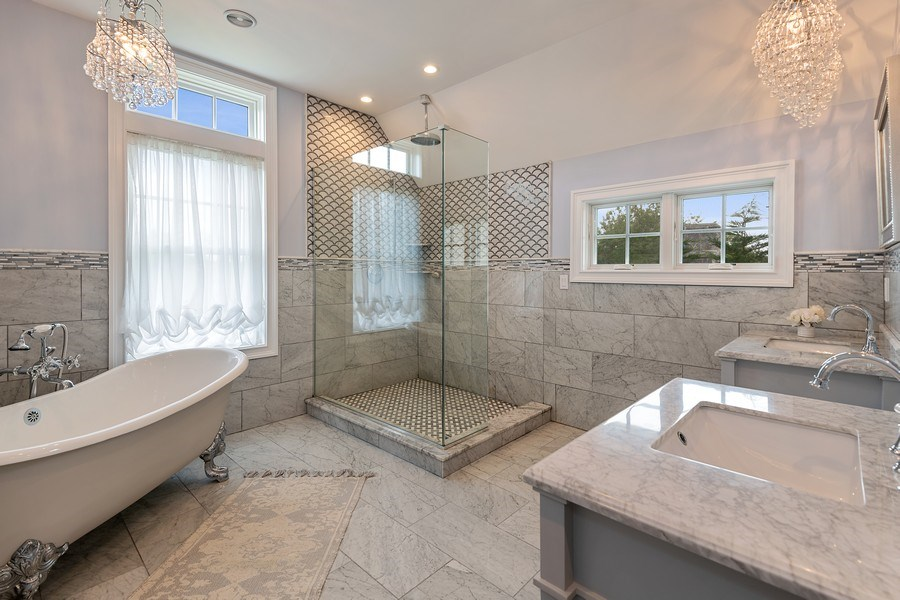 Real Estate Photography - 325 Wells Rd, Peconic, NY, 11958 - Master Bathroom