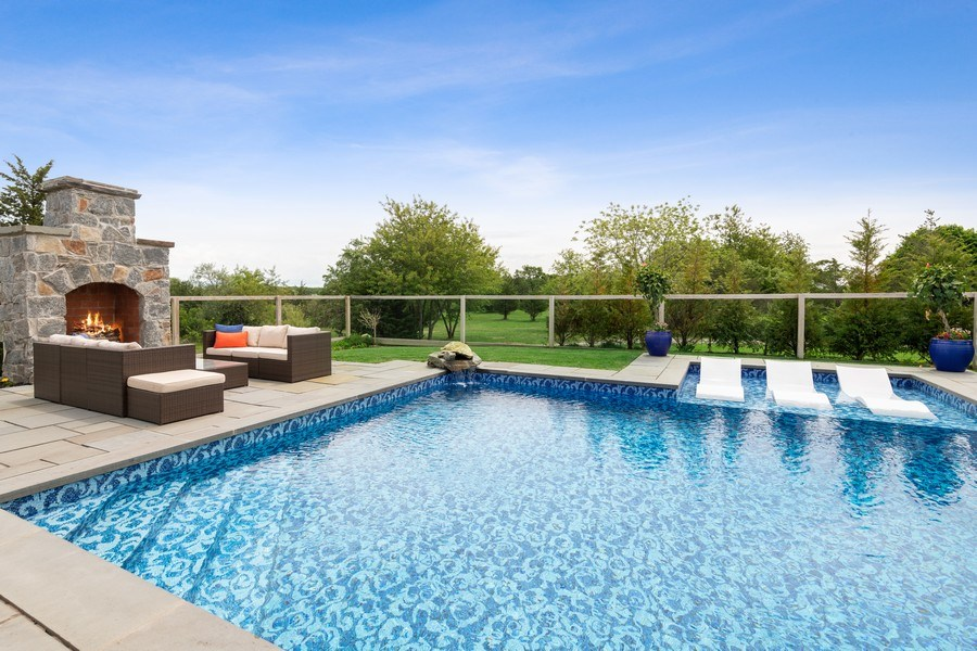 Real Estate Photography - 325 Wells Rd, Peconic, NY, 11958 - Pool