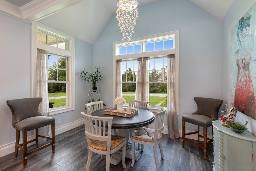 Real Estate Photography - 325 Wells Rd, Peconic, NY, 11958 - Dining Area
