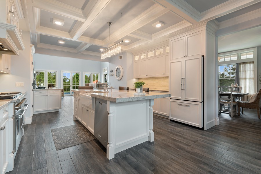 Real Estate Photography - 325 Wells Rd, Peconic, NY, 11958 - Kitchen / Dining Room