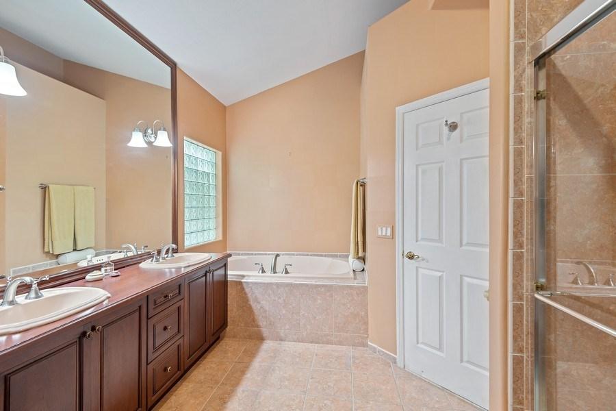 Real Estate Photography - 6 Cove Ln, Plainview, NY, 11803 - Master Bathroom