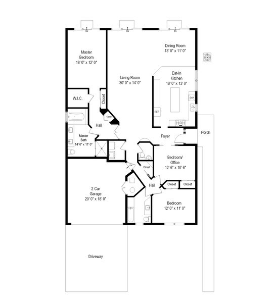 Real Estate Photography - 6 Cove Ln, Plainview, NY, 11803 - Floor Plan
