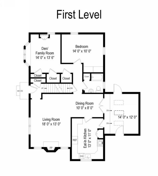Real Estate Photography - 20 Oakland Drive, Port Washington, NY, 11050 - Floor Plan