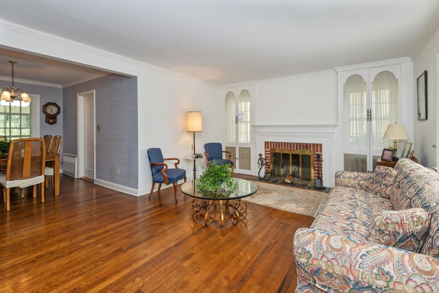Real Estate Photography - 20 Oakland Drive, Port Washington, NY, 11050 - Living Room / Dining Room