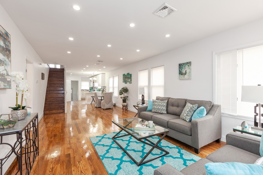 Real Estate Photography - 133-42 244 St, Rosedale, NY, 11422 - Living Room