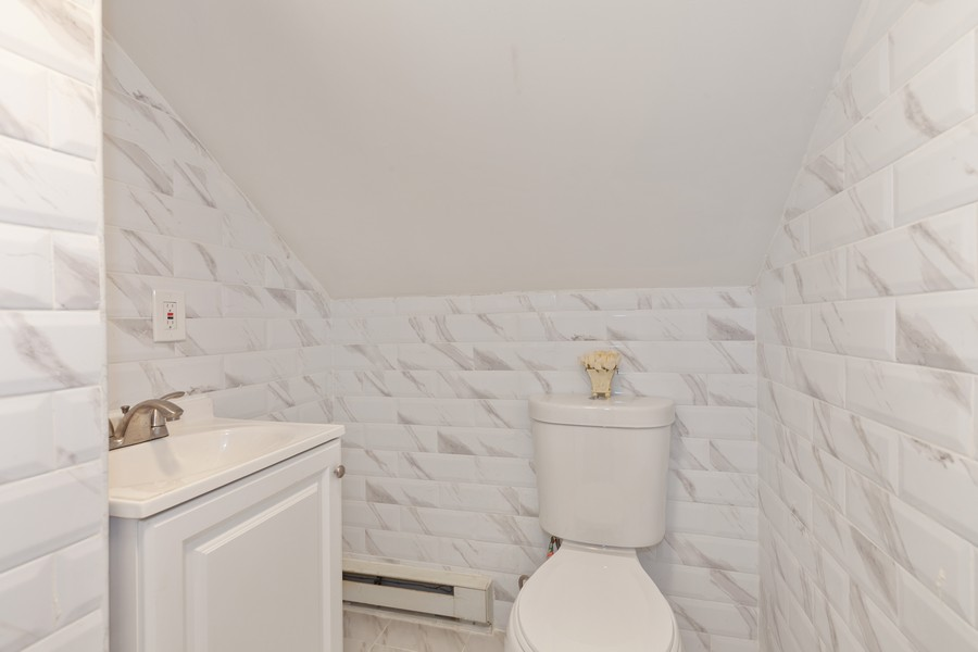Real Estate Photography - 133-42 244 St, Rosedale, NY, 11422 - Powder Room