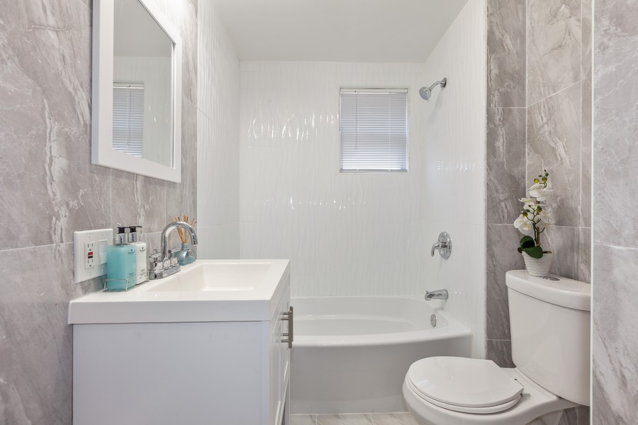 Real Estate Photography - 133-42 244 St, Rosedale, NY, 11422 - 2nd Bathroom