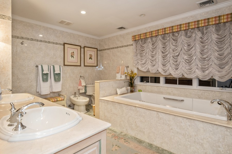 Real Estate Photography - 19 Townsend Rd, Glen Cove, NY, 11542 - Master Bathroom