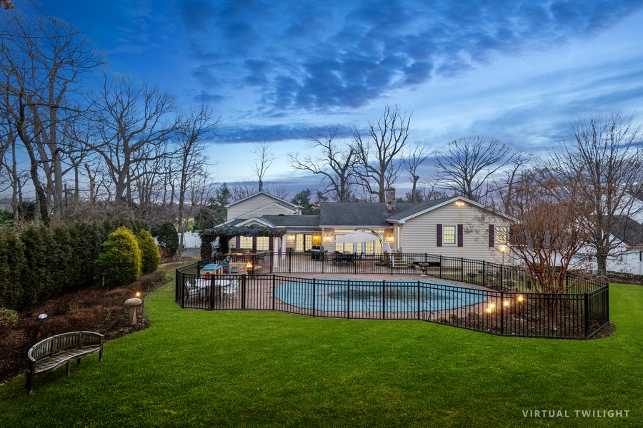 Real Estate Photography - 19 Townsend Rd, Glen Cove, NY, 11542 - Rear View