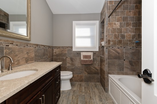 Real Estate Photography - 316 Bellmore Rd, East Meadow, NY, 11554 - Bathroom