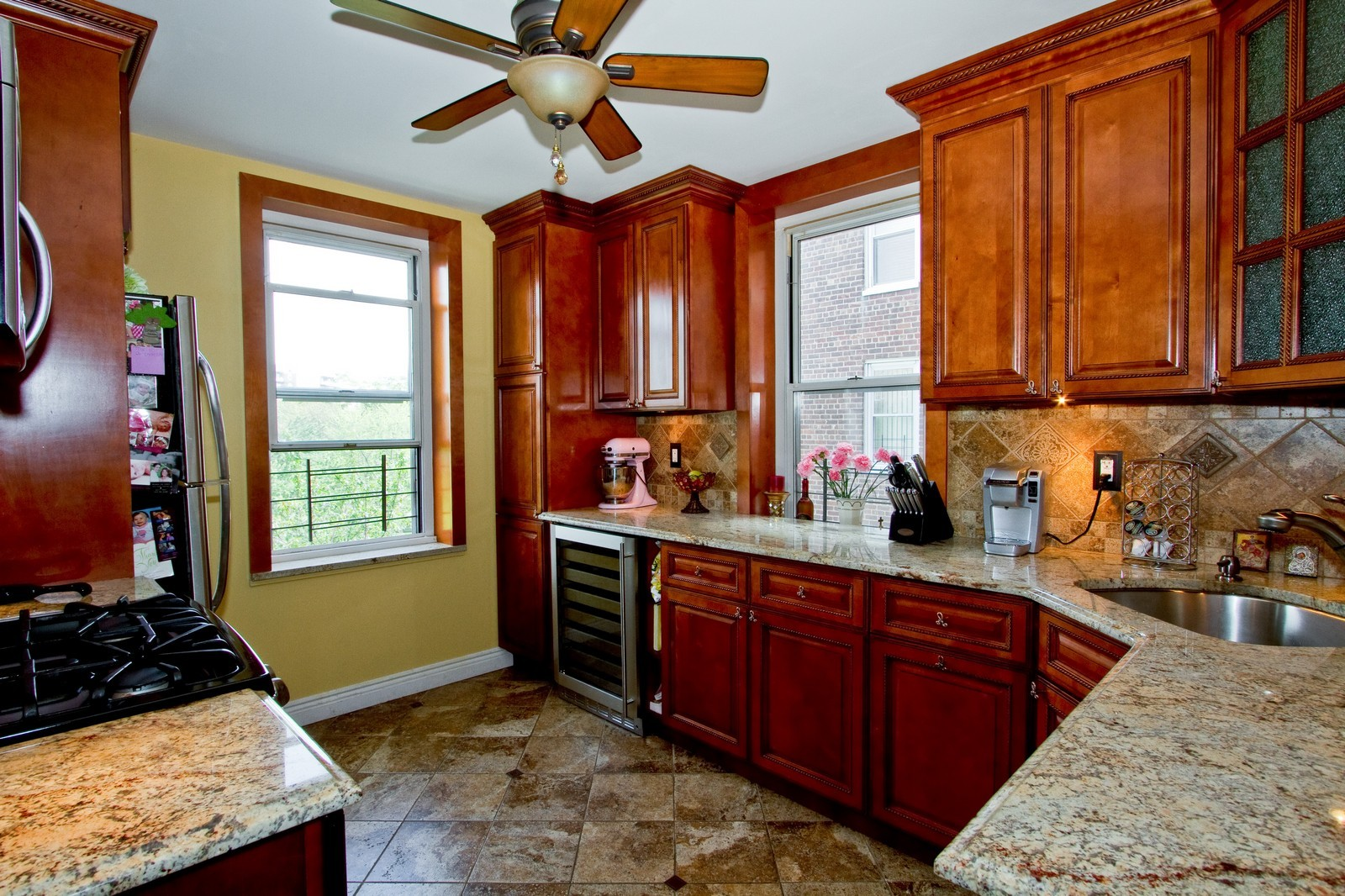 Real Estate Photography - 211-65 23rd Avenue, Unit 3D, Bayside, NY, 11360 - Kitchen
