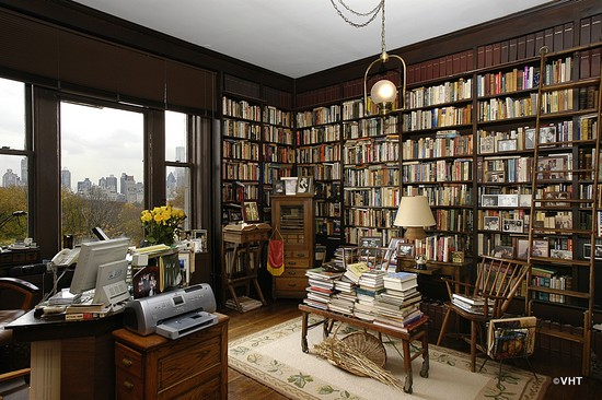 88 Central Park West Unit 7s New York New York 10029 Library Photography Homes For Sale