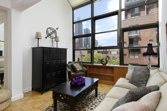Real Estate Photography - 350 E 62nd St, Apt 5Q, New York, NY, 10022 - Living Room