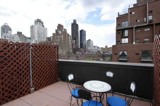 Real Estate Photography - 350 E 62nd St, Apt 5Q, New York, NY, 10022 - Roof