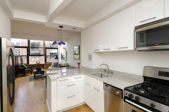 Real Estate Photography - 350 E 62nd St, Apt 5Q, New York, NY, 10022 - Kitchen