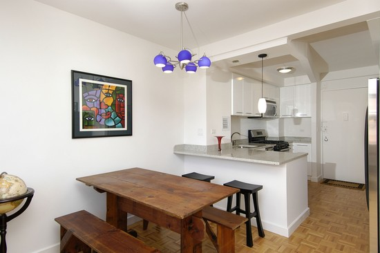 Real Estate Photography - 350 E 62nd St, Apt 5Q, New York, NY, 10022 - Kitchen / Dining Room