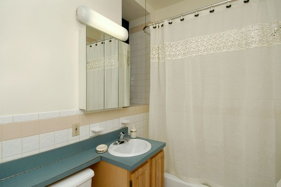 Real Estate Photography - 371 W 117th St, Apt 1C, New York, NY, 10022 - Bathroom