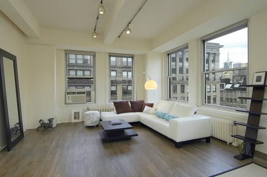Living Room Photograph Of 425 Park Avenue South Apt 16A New York 10016
