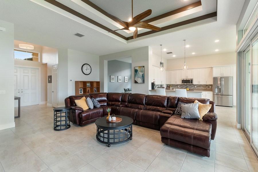 Real Estate Photography - 8880 Golden Mountain Circle, Boynton Beach, FL, 33473 - Living Room