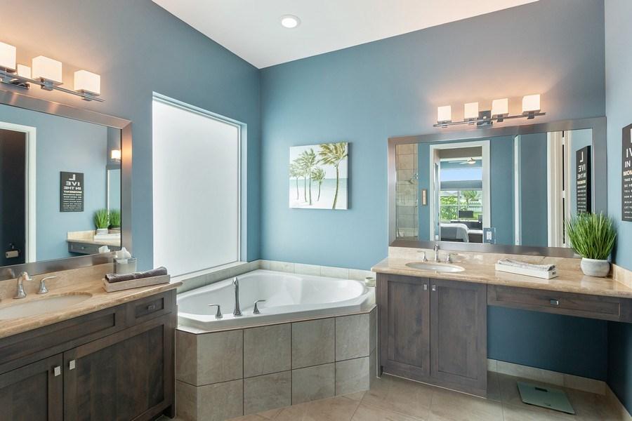 Real Estate Photography - 8880 Golden Mountain Circle, Boynton Beach, FL, 33473 - Master Bathroom