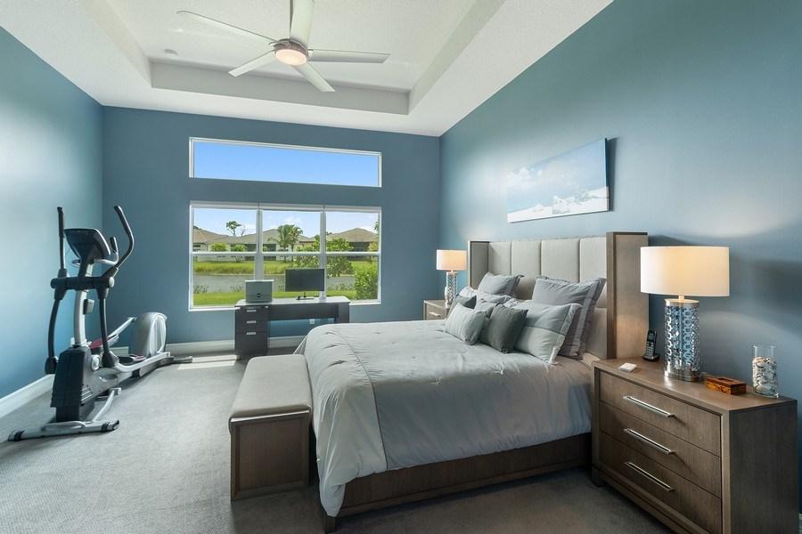 Real Estate Photography - 8880 Golden Mountain Circle, Boynton Beach, FL, 33473 - Master Bedroom