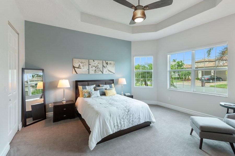 Real Estate Photography - 8880 Golden Mountain Circle, Boynton Beach, FL, 33473 - Bedroom