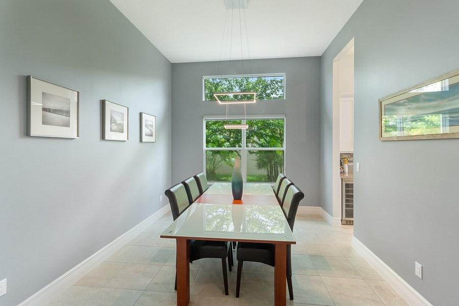 Real Estate Photography - 8880 Golden Mountain Circle, Boynton Beach, FL, 33473 - Dining Room