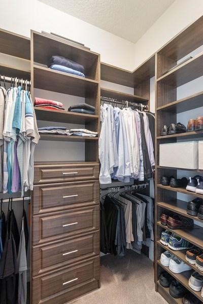 Real Estate Photography - 8880 Golden Mountain Circle, Boynton Beach, FL, 33473 - Master Bedroom Closet