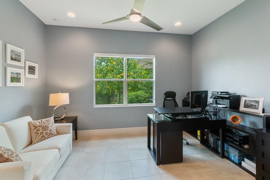 Real Estate Photography - 8880 Golden Mountain Circle, Boynton Beach, FL, 33473 - Office