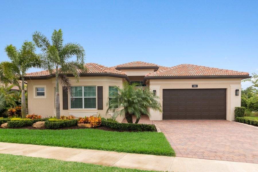Real Estate Photography - 8880 Golden Mountain Circle, Boynton Beach, FL, 33473 - Front View