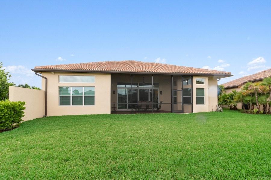 Real Estate Photography - 8880 Golden Mountain Circle, Boynton Beach, FL, 33473 - Rear View