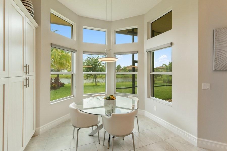 Real Estate Photography - 8880 Golden Mountain Circle, Boynton Beach, FL, 33473 - Breakfast Nook