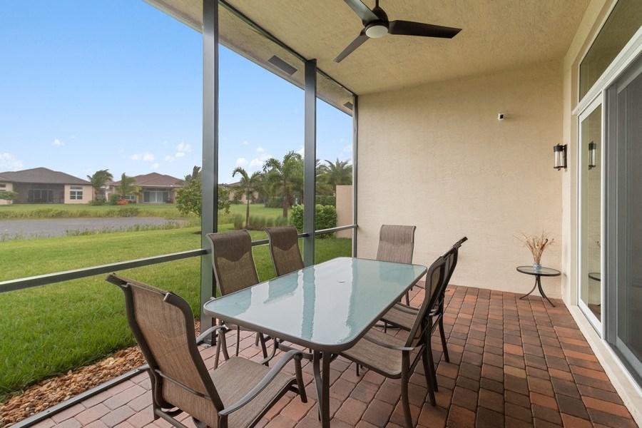 Real Estate Photography - 8880 Golden Mountain Circle, Boynton Beach, FL, 33473 - Patio