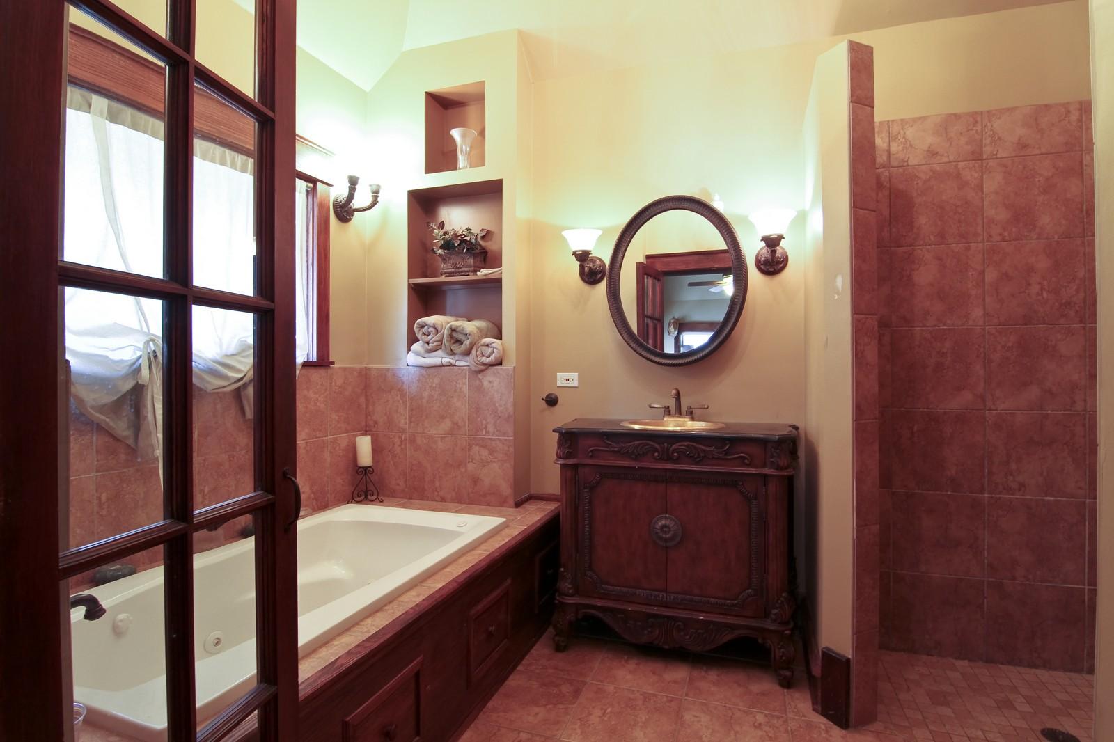 Real Estate Photography - 338 S. 8th, La Grange, IL, 60525 - Master Bathroom