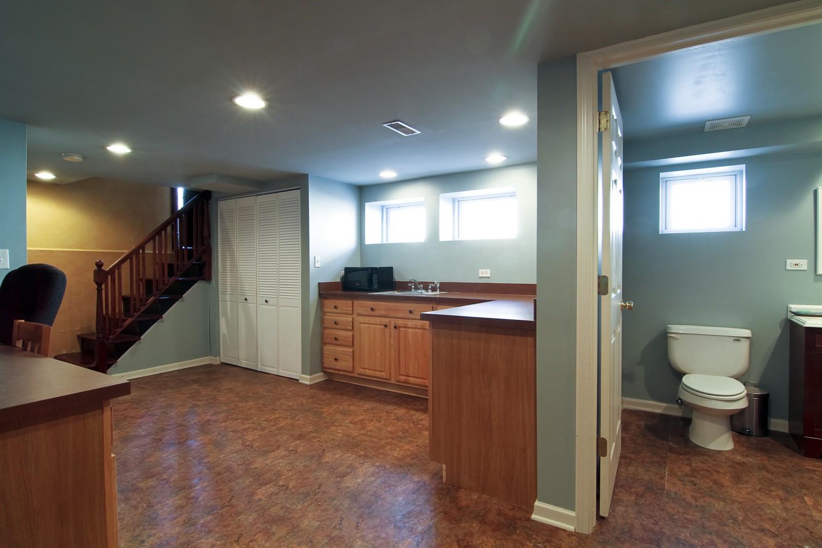Real Estate Photography - 338 S. 8th, La Grange, IL, 60525 - Lower Level