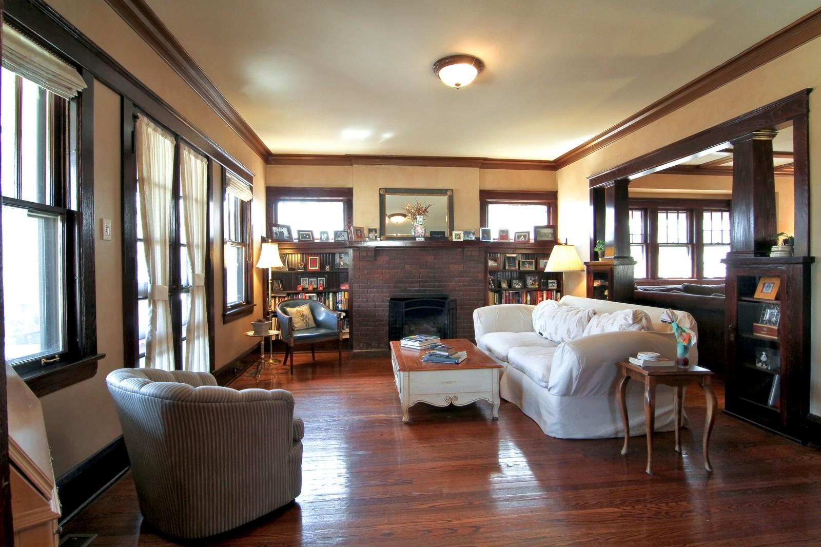 Real Estate Photography - 338 S. 8th, La Grange, IL, 60525 - Living Room
