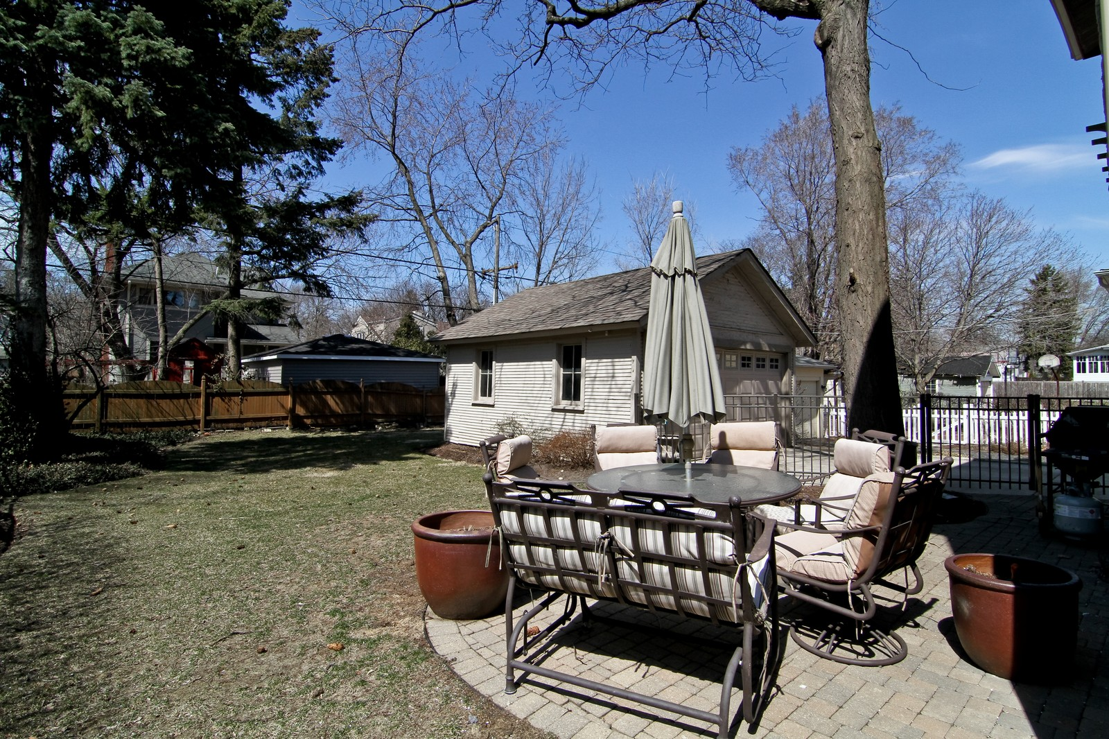 Real Estate Photography - 338 S. 8th, La Grange, IL, 60525 - Back Yard