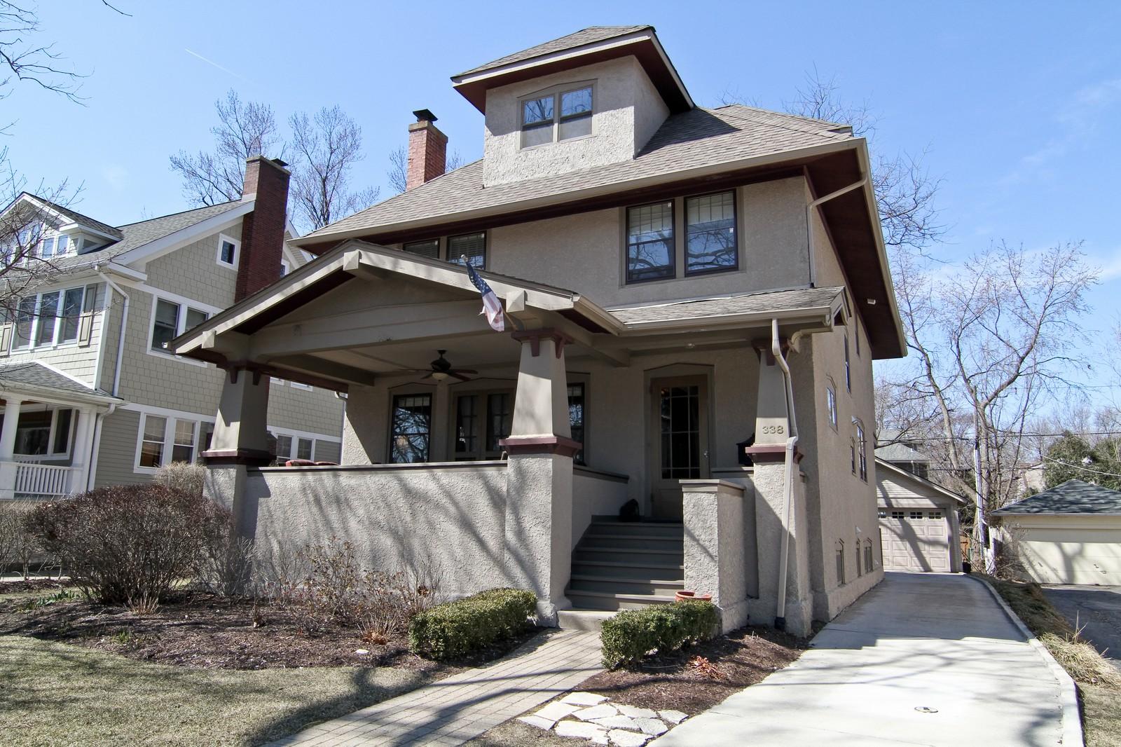 Real Estate Photography - 338 S. 8th, La Grange, IL, 60525 - Front View