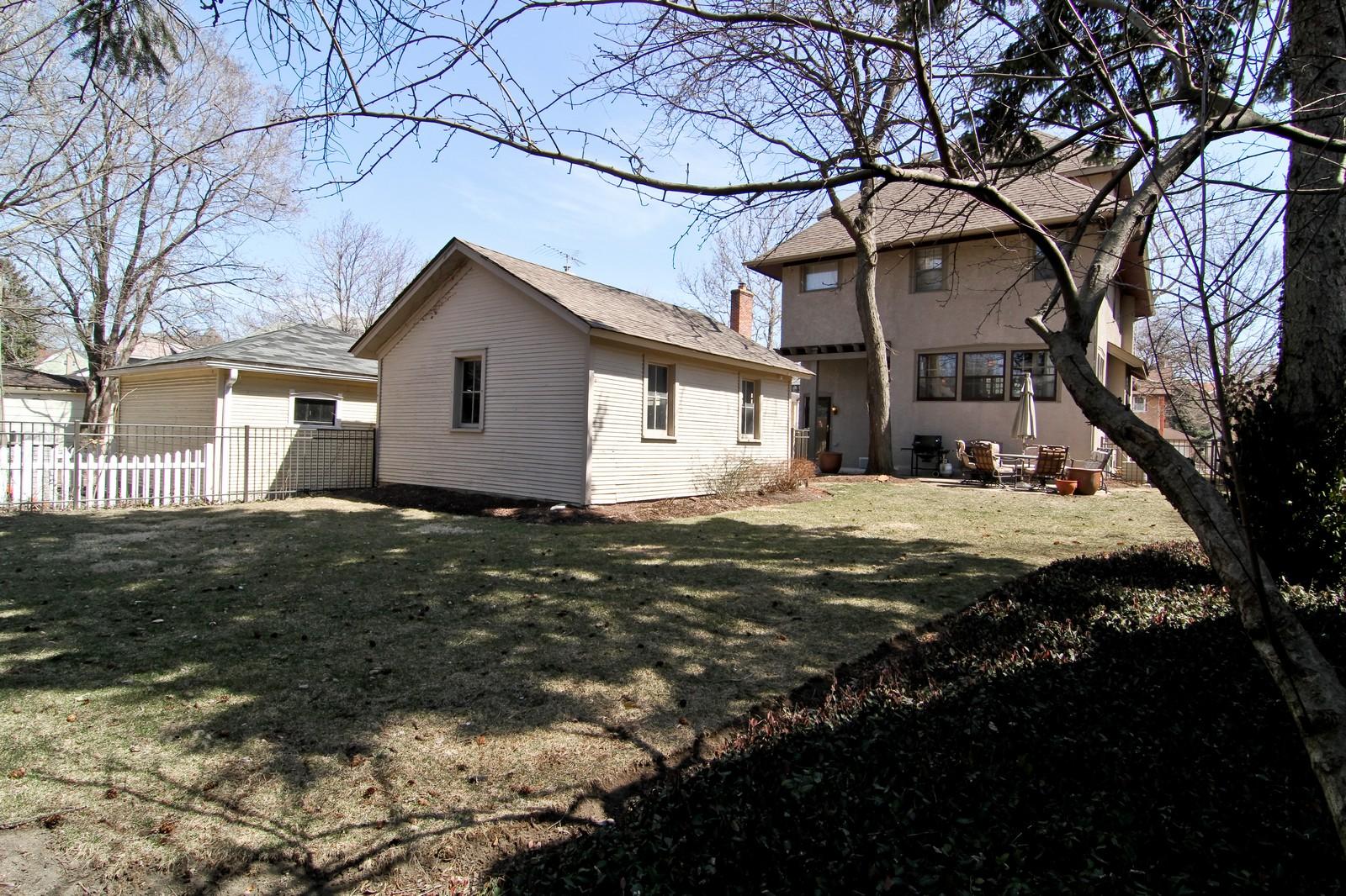 Real Estate Photography - 338 S. 8th, La Grange, IL, 60525 - Rear View
