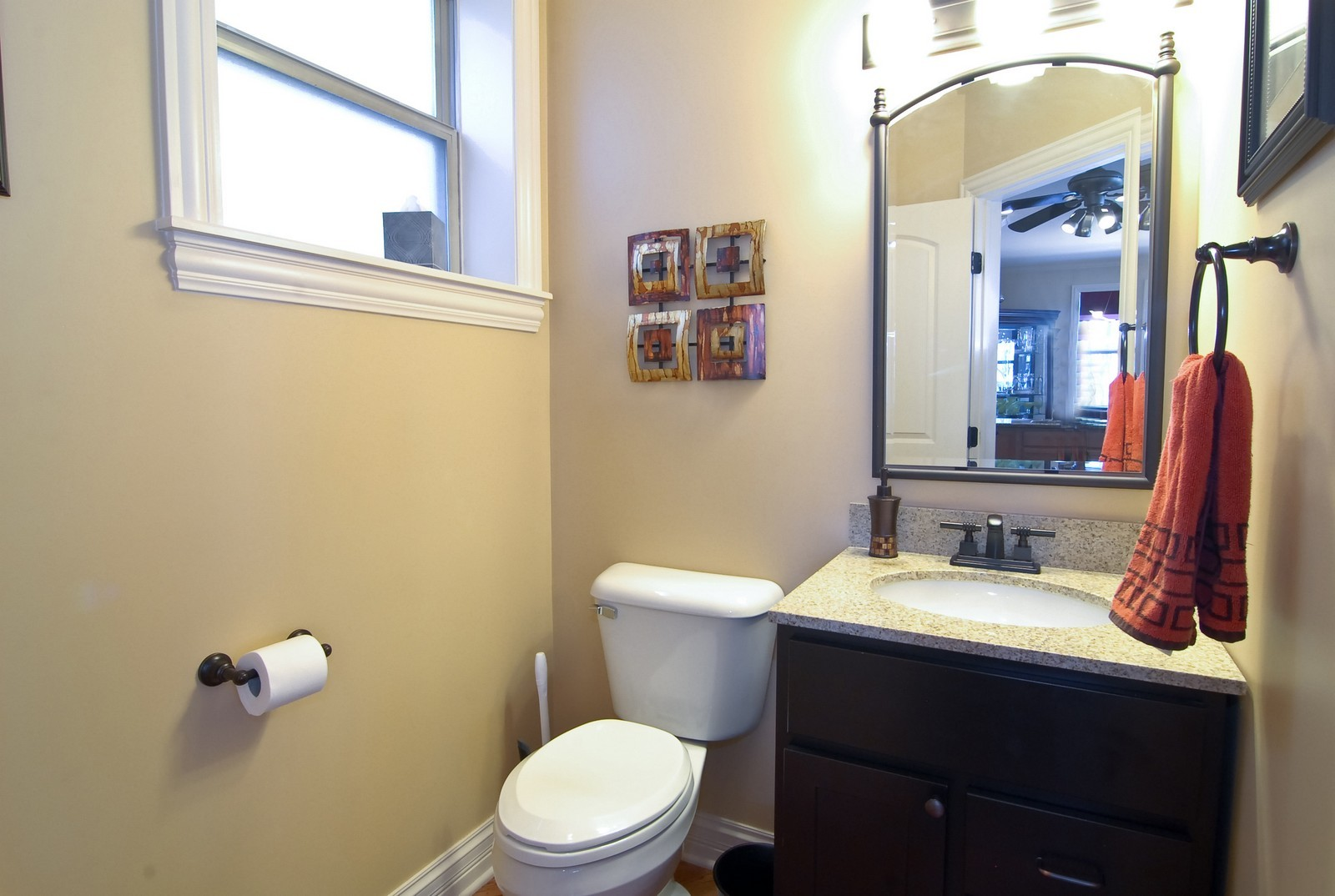 Real Estate Photography - 2217 N. Oakley, 1N, Chicago, IL, 60647 - Half Bath