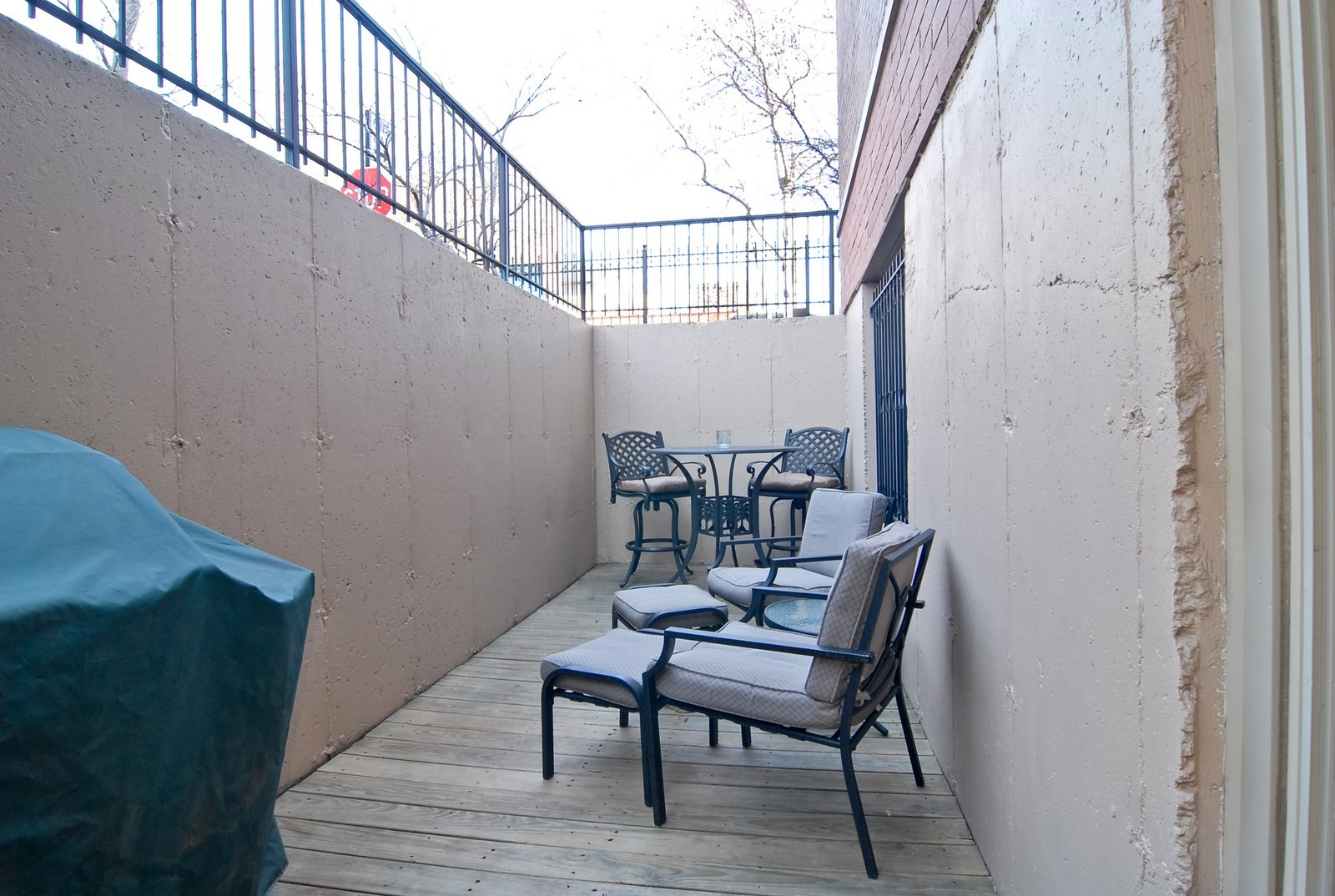 Real Estate Photography - 2217 N. Oakley, 1N, Chicago, IL, 60647 - Patio